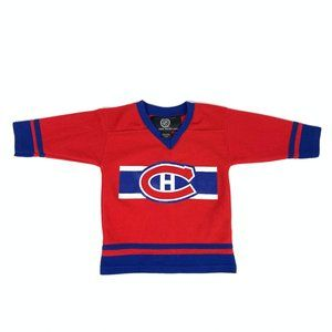 NHL Montreal Canadiens Kids Hockey Jersey 3T